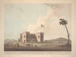 The Assembly Rooms on the Race Ground, near Madras